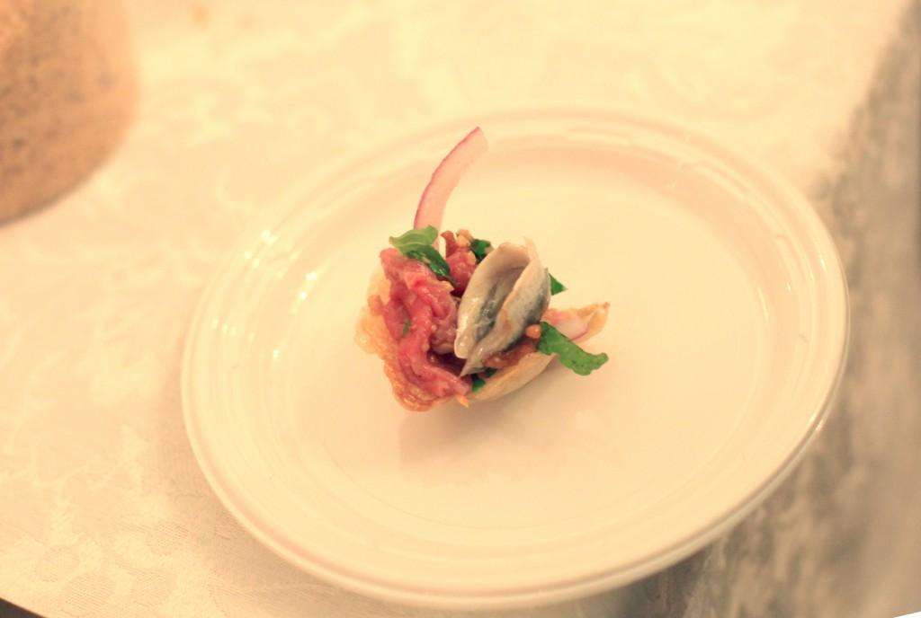 Beef Tendon Carpaccio from Bricolage