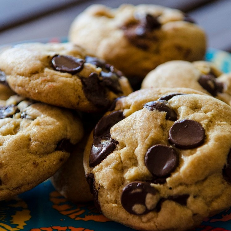chocolate chip cookies from brittany's biscuits