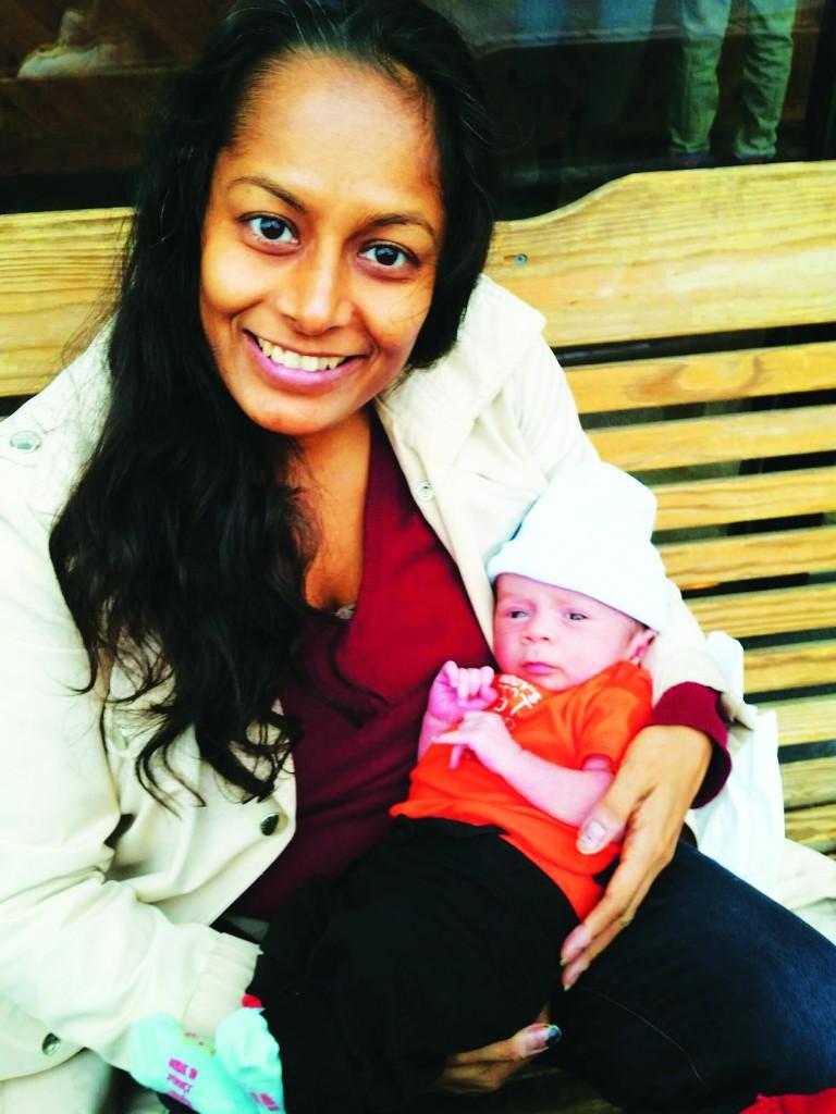Ambika&Child