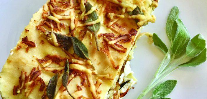 Olivia's Kitchen: Roasted Butternut Squash and Sage Lasagna
